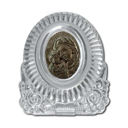 31-45 cristal - icoana metal argintie 300/bax