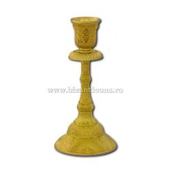 52-157Au sfesnic 1 brat - 16,5x8cm metal auriu 2/set 96/bax