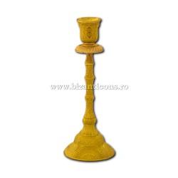 52-158Au sfesnic 1 brat - 21x8cm metal auriu 2/set 72/bax