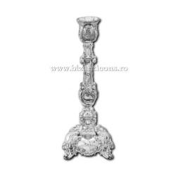 52-160Ag sfesnic 1 brat - 17x8,5cm metal argintiu 72/bax