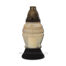 78-16 lumanare parafina - pahar sticla 30ore - .../bax