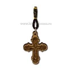 50-138 medalion auto cruce lemn 12/set