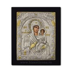 Icoana argintata - Maica Domnului Odighitria - Indrumatoarea 23x25 cm K105Ag-106