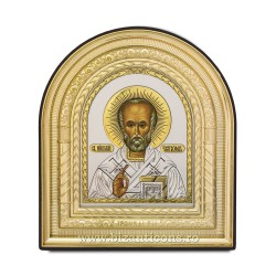 Icoana arca - Sf Nicolae 15,5x17,5 38/bax ICA30-959