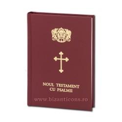 71-536 Noul Testament cu Psalmi - maro - mic