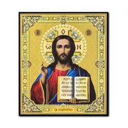 Икона на дереве - Спасителя, казанская 15x18 см