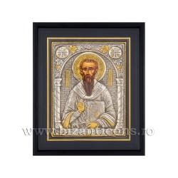 Icoana argintata - rama 25x30 Sf Vasile K1101-126