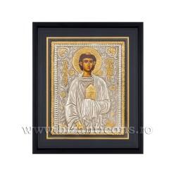 Icoana argintata - rama 25x30 Sf Stefan K1101-158