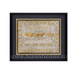 Icoana argintata - rama 25x30 Cina K1101-200