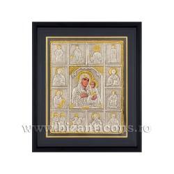 Icoana argintata - rama 25x30 MD Iconostas Ierusalim K1101-407
