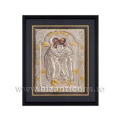 Icoana argintata - rama 25x30 Sf Petru si Pavel K1101-431