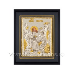 Icoana argintata - rama 25x30 Sf Ilie K1101-444