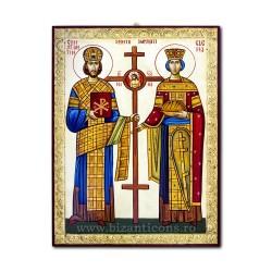 Icoana pictata 50x70 - Sf Constantin si Elena ICP75-011