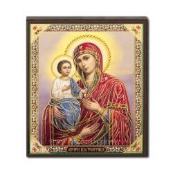 1852-711 Икона русской плиты мдф, 10x12 ДОКТОР с 3-мя руками