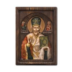 Icoana relief 16x22cm Sf Nicolae BG-74