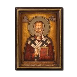 Icoana relief 16x21cm Sf Nicolae BG-76