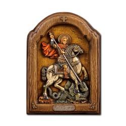 Icoana relief 15x20cm Sf Gheorghe BG-80