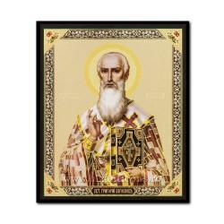 1852-741 Icoana ruseasca mdf 10x12 Sf Grigore Bogoslovul