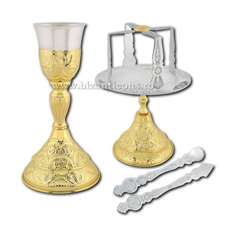 Sfinte Vase 0,4 litri - aurit S18-09