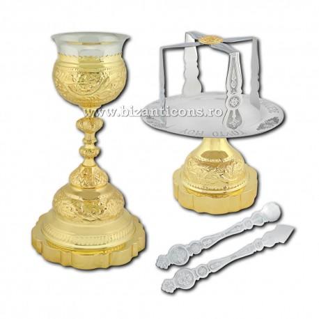 Sfinte Vase 05 litri - aurit - S18-13G