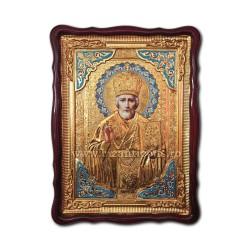 Icoana in rama Sf Nicolae 62x82 cm ST 68-009