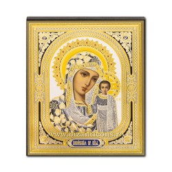1883-72 the Icon to the Russian, 3D mdf, 10x12, MD Kazan.