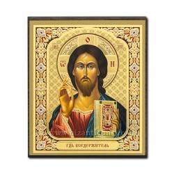 Icoana pe lemn - Mantuitorul din Kazan 10x12 cm