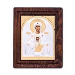 ICOANA lemn 16,5x20 - MD Iisus binecuvatand - Tsambika BPR4-109