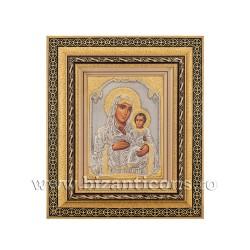 Icoana metal - rama aurie 31x36 MD Ierusalim K801-006
