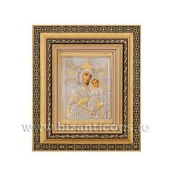 Icoana in rama - Maica Domnului din Thino 32,5x38 cm