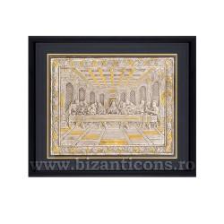 Icoana argintata - rama 34x42 Cina K1100-200