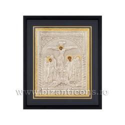 Icoana argintata - rama 34x42 Rastignirea K1100-202