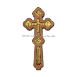 8-63 cruce lemn Binecuvantare - Rastignirea metal - 1,7x14,5x29cm