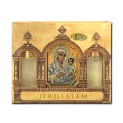 MIR cutie - icoana MD Ierusalim (1-52) D 74-8-006
