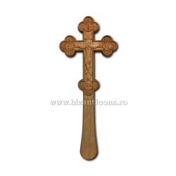 Cruce Bin. Lemn - bizantina - 1,2x8,7x22,5 cm R 95-631