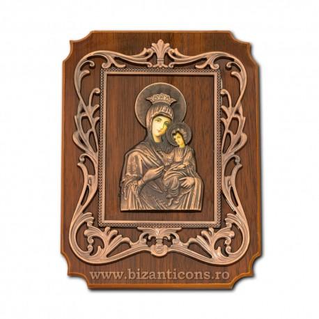 Icoana lemn birou 15x20 cm