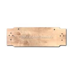 Toaca mare - lemn de paltin 4x30x100 cm D 1-860