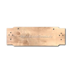 Toaca mare - lemn de paltin 4x30x100 cm