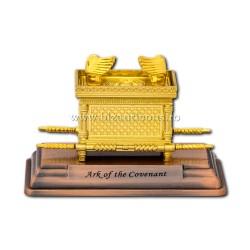 Chivotul legii - mic - metal auriu - 11x7,5x5,5cm D 104-1