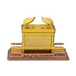Chivotul legii - mediu A - metal auriu - 17,5x12x10cm D 104-2