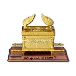 Chivotul legii - mediu B - metal auriu - 28x16x20cm D 104-3
