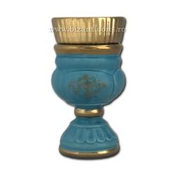 121-2-3 Candela ceramica medie - Bleo