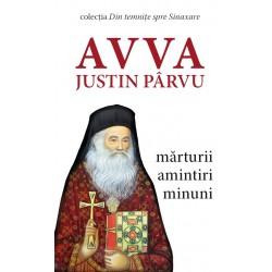 Avva Justin Parvu - Danion Vasile