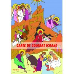 71-1522 Carte de colorat icoane pentru copii