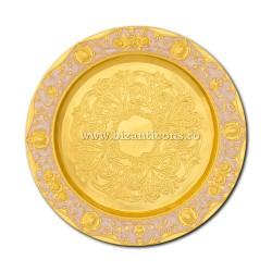52-48Au disc auriu 24,5 cm