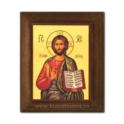 1828-001 Icoana fond auriu 11x13 - Iisus