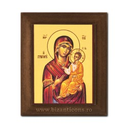 1828-106 Icoana fond auriu 11x13 - MD Odighitria