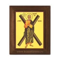 1828-118 Icoana fond auriu 11x13 - Sf Andrei