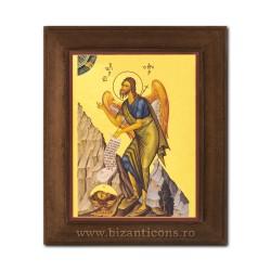 1828-121 Icoana fond auriu 11x13 - Sf Ioan Botezatorul