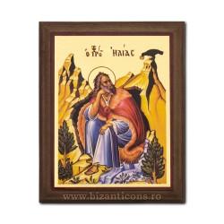 1829-015 Icoana fond auriu 15,5x19,5 - Sf Ilie